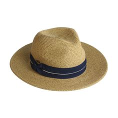 Summer Paper Straw Panama Hat With Twisted Ribbon (ST-514)