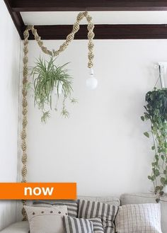 Then & Now: DIY Macrame Lamps | Apartment Therapy
