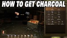 How to obtain charcoal in Mount and Blade 2 Bannerlord Mount & Blade, Iron Ore, To Obtain, Lockers, Locker Storage, Charcoal, Channel, Gaming, Youtube