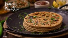 Home Cooking Paneer-Paratha Ingredients :Wheat Flour - 2 CupsSalt - TSPOilWaterTo make Paneer Filling :Paneer - 200 GMSOnion - 1 Nos.Finely ChoppedGreen Chillies - 2 Nos ChoppedGinger - 1 Nos. Spicy Recipes, Gourmet Recipes, Cooking Recipes, Vegetarian Recipes, Snacks Recipes, Veg Recipes, Paratha Recipes, Paneer Recipes, Paneer Snacks