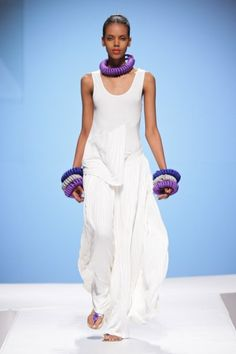 Cape Town fashion week: Michelle Ludek (lovely)