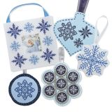 Finish an Ornament 5 Ways (Snowflakes), from Cross-Stitch & Needlework, January 2012.