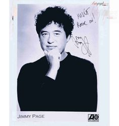 Jimmy Page Autographed Promo photograph [Led Zeppelin]
