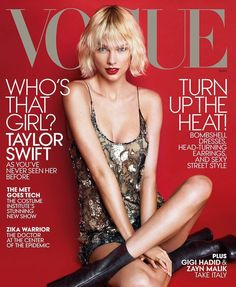 T Swift: This is my favorite cover I've ever gotten to be a part of. Thank you @voguemagazine! #taylorswift
