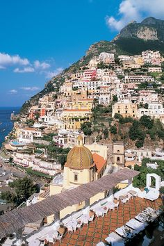 Italy's Amalfi Coast is probably the most idyllic stretch of coastline in the Mediterranean, with its cozy towns nestled on rugged cliffs ab