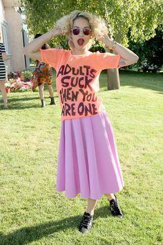 Camisetas con mensaje: Rita Ora
