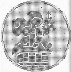 Kira scheme crochet: Scheme crochet no. Filet Crochet Charts, C2c Crochet, Crochet Doilies, Crochet Lace, Tatting Patterns, Doily Patterns, Crochet Patterns, Fillet Crochet, Crochet Winter