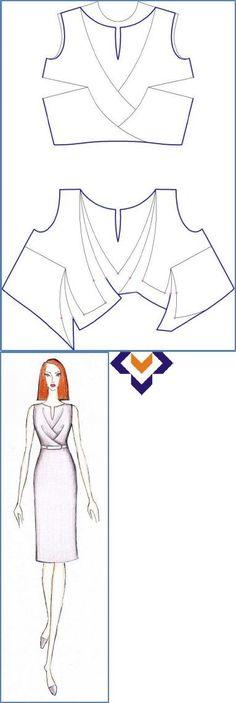 Sensational Tips Sewing Pattern Ideas. Brilliantly Tips Sewing Pattern Ideas. Techniques Couture, Sewing Techniques, Fashion Sewing, Diy Fashion, Sewing Clothes, Diy Clothes, Clothing Patterns, Sewing Patterns, Pattern Draping