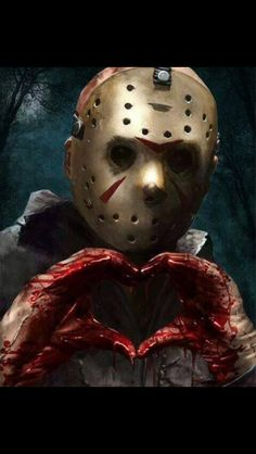 "geteiltes-leid-und-gleichgesinnt: "" Jason Voorhees by Kid-Eternity "" Horror Movie Characters, Horror Movies, Happy Friday The 13th, Friday The 13th Memes, Horror Icons, Jason Voorhees, Arte Horror, Halloween Horror, Halloween 2018"