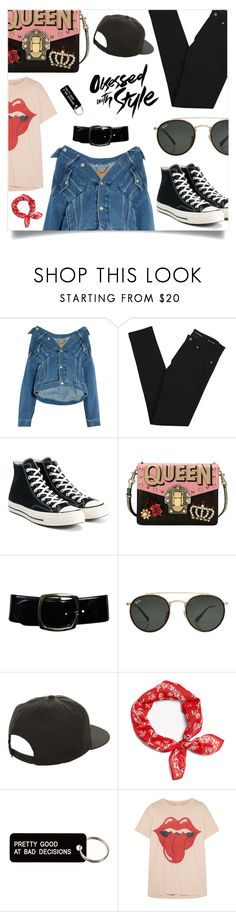 """Obsessed with style, not you"" by tsaniaardhani on Polyvore featuring Balenciaga, Yves Saint Laurent, Converse, Dolce&Gabbana, Chanel, Ray-Ban, NIKE, Various Projects and MadeWorn"