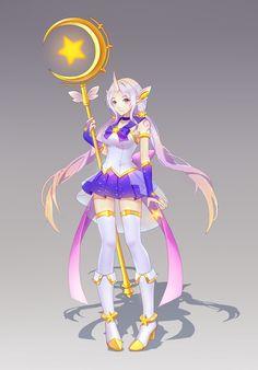 ArtStation - Star Guardian Soraka, Kezi .