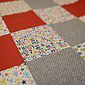 couverture enfant patchwork