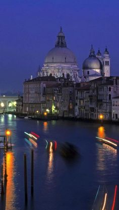 Grand Canal,  Venice, Italy we went at just dusk to st marks square and you can't believe how beautiful !!