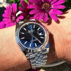 Rolex Datejust 41 with flowers! ref.126334 #datejust #datejust41 305-377-333 www.diamondclubmiami.com/contact-us  #watchcollector #watchnerd #menstagram #dappermen #watchmaking #watchuseek #thewristwatcher #watchfam #watchesofinstagram #rolexero #watchoft
