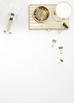 Shay Cochrane / Gold desktop pretties in the SC Stock Shop!