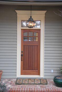 EXOVATIONS® Door Pediment Burrlesson Home AFTER Photo
