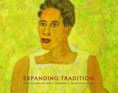 """Currently in our galleries, """"Expanding Tradition"""" showcases 58 works by artists in the Larry D. and Brenda A. Thompson Collection of African American Art. This gorgeous 168-page, full-color catalogue celebrates the exhibition and expands on its scholarship with essays from both curators and collectors. Now available in the Museum Shop for $40 ($36, members of the Friends)."""