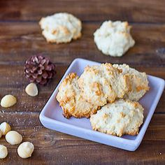 Macadamia Cookies,  my all time favorite!!  Plus their so tiny that you can eat two and not feel guilty.