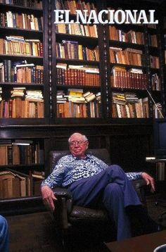 Arturo Uslar Pietri, escritor, político, economista venezolano. 15-11-1997.   (Nelson Castro / Colección Archivo El Nacional)