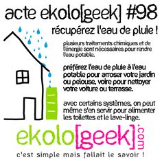 Ekolo[geek] – C'est simple mais fallait le savoir ! » Blog Archive » Acte ekolo[geek] #98