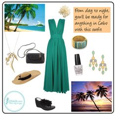 Go from day to night with this beach ready outfit for Cabo! #iiCabo