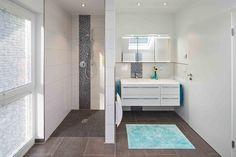 Fertighaus Wohnidee Badezimmer