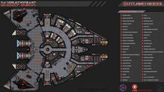 by on DeviantArt Star Wars Planets, Star Wars Rpg, Star Wars Ships, Spaceship Interior, Spaceship Design, Space Ship Concept Art, Ship Map, Star Wars Light, Star Wars Characters Pictures