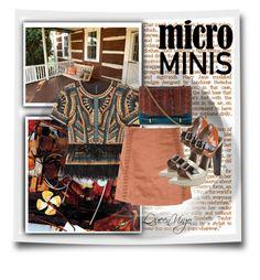 """Micro Mini Fashion"" by queenvirgo on Polyvore featuring BCBGMAXAZRIA, Glamorous, Marni and Nina Ricci"