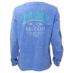 0f5f14e641 Salt Life Ron Jon Junior Aquaholic Long Sleeve Tee