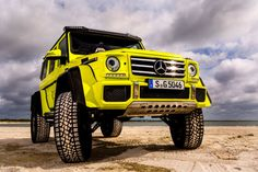 There Is Only One Mercedes G-Wagen G-Squared in America and I Drove It to the Beach
