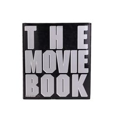 """Authentic PreOwned® """"The Movie Book"""" by Editors of the Phaidon Press. This book is an in-depth view about the history of movies accompanied by film stills, photographs, and extensive details about the different aspects of the film industry."""