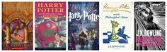 Here's How Much the 'Harry Potter' Covers Have Changed Over the Years