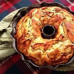 A moist and dairy-free apple cake, perfect for Hanukkah or... just because! Bake for about 50 minutes