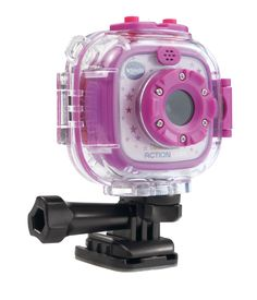 The Kidizoom Action Cam by VTech lets little videographers capture their adventures with videos and photos! The Action Cam is a great first video camera for kids and is durable enough to handle drops 8 Year Old Christmas Gifts, Christmas Countdown, Christmas Tree, Toys For Girls, Kids Toys, Baby Toys, 8 Year Old Girl, Tween Girl Gifts, Top Toys