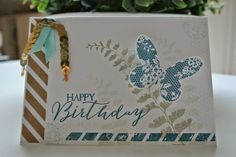 Butterfly Basics, Butterfly Thinlits die, Stampin Up by Cards and Scrapping