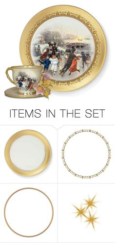 """""""The Skaters Plate"""" by victorianheaven ❤ liked on Polyvore featuring art and vintage"""