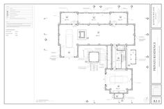 West Beach Residence — Kenneth Wiland ARCHITECT Architectural Services, Architectural Drawings, Architect Jobs, Three Oaks, Modern Exterior House Designs, Plan Drawing, Drawing Ideas, Office Plan, Apartment Floor Plans