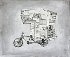Camper bike, la casa sulla bici che viene sempre con te | Design Fanpage