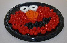 Healthy Elmo snack