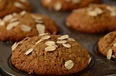 Yummy bran muffins (batter keeps in the fridge so you can have fresh, warm muffins every morning!)