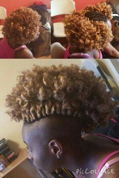 Crochet Hair Shaved Sides : ... Sides Styles, Shaved Hairstyles, Braids Hair, Crochet Braids Shaved