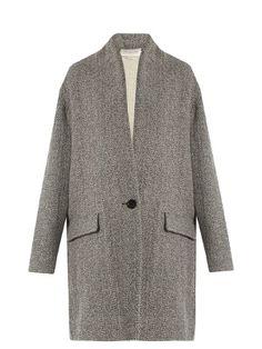 Edilon herringbone coat | Isabel Marant Étoile | MATCHESFASHION.COM US