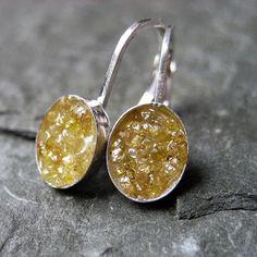 Fantastic yellow diamond earrings! #handmade #jewelry #earrings
