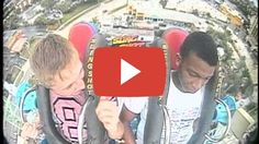 Funniest slingshot video ever boy faints 3 times: Share this video