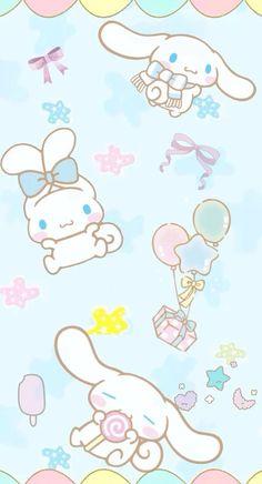 Cinnamoroll (((o(*゚▽゚*)o)))♡ Sanrio Wallpaper, Kawaii Wallpaper, Hello Kitty Wallpaper, Cool Wallpaper, Kawaii Doodles, Kawaii Art, Kawaii Anime, Cute Backgrounds, Phone Backgrounds