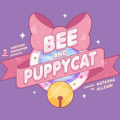 Bee and Puppycat Graphic Design Layouts, Graphic Design Posters, Graphic Design Inspiration, Anime Titles, Promotional Design, Typography, Lettering, Moon Design, Game Logo