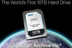 Hitachi presenta il primo Hard Disk da 10 TeraByte http://www.sapereweb.it/hitachi-presenta-il-primo-hard-disk-da-10-terabyte/          Dopo averli pubblicizzati per diverso tempo, Hitachi inizia le spedizioni dei suoi nuovi hard disk rotativi da 10 TeraByte, drive pensati ovviamente per il mercato enterprise e quegli ambiti di utilizzo dove la capacità di storage è un elemento cruciale. I nuovi dischi...
