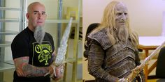 Watch Anthrax's Scott Ian Become A Game Of Thrones White Walker