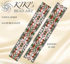 Bead loom pattern Native spirit LOOM bracelet pattern in