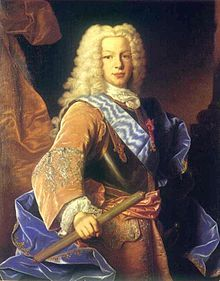 Ferdinand VI of Spain (1713 - 1759). Son of Philip V and Maria Luisa of Savoy. He married Barbara of Portugal but had no children.